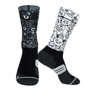 Beastie Cycling Socks
