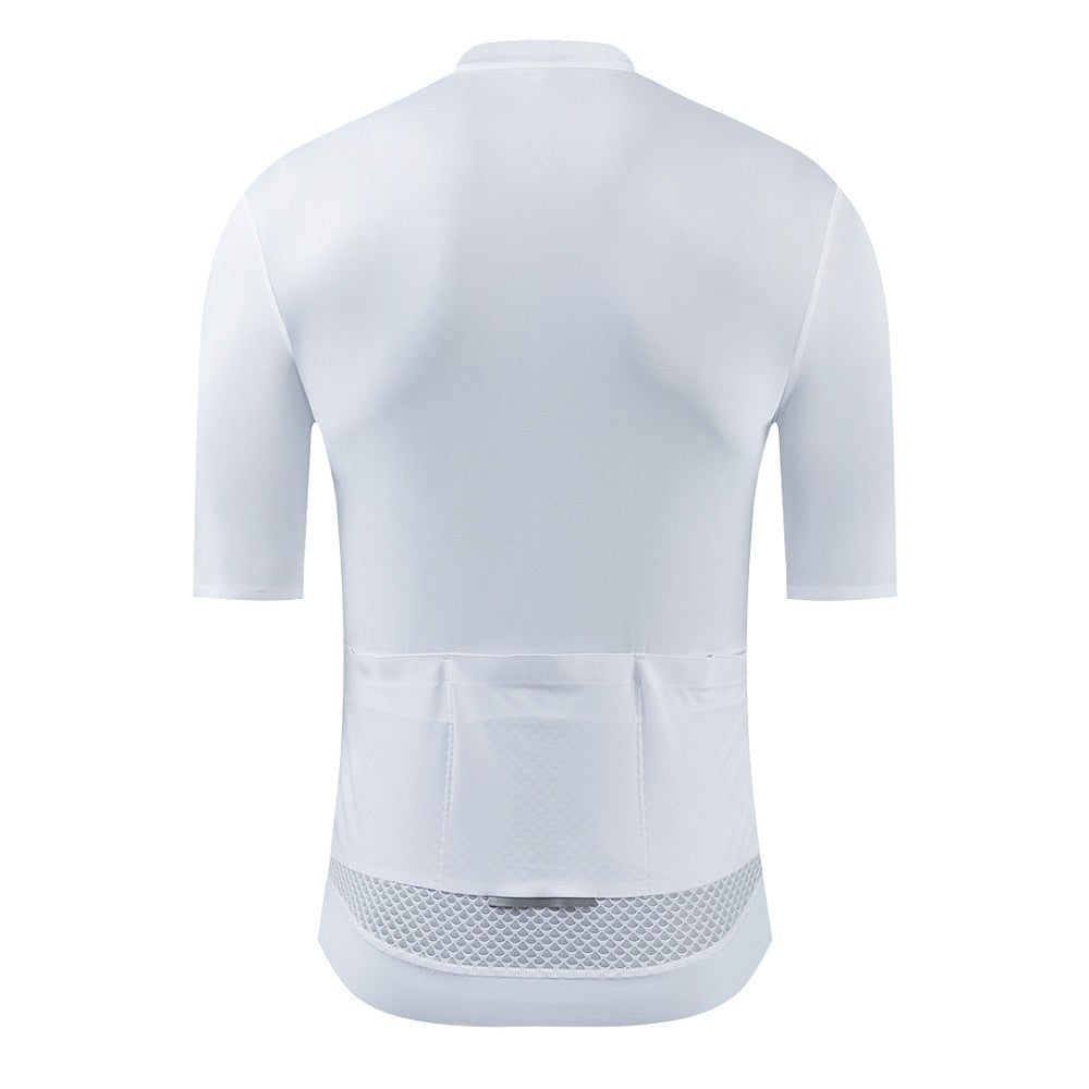 Alphalight White Cycling Jersey
