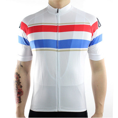 Tricolour Cycling Jersey - Vogue Cycling
