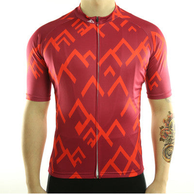 Abstract Cycling Jersey