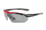 Multiwear Polarized Sports Glasses - Vogue Cycling