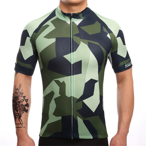 Camo Cycling Jersey - Vogue Cycling