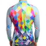 Multicolour Thermal Jersey - Vogue Cycling