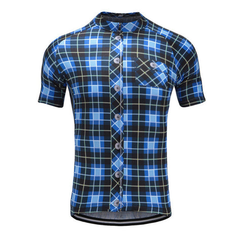 Plaid Shirt Jersey - Vogue Cycling