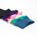 Multicolour Geometric Cycling Socks - Vogue Cycling