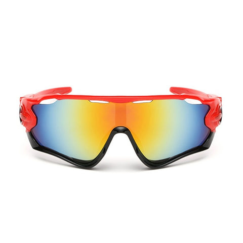 Red Pro Cycling Sunglasses - Vogue Cycling
