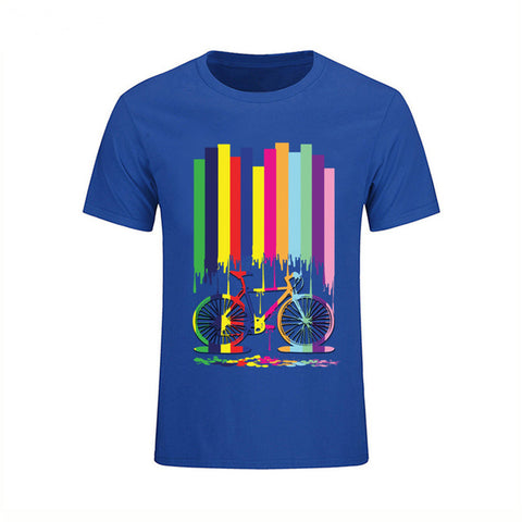 Multicolour Bike T-Shirt - Vogue Cycling