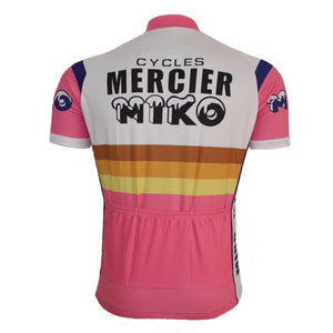 Mercier Miko Retro Cycling Jersey - Vogue Cycling