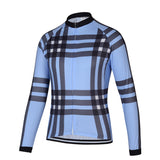 Classic Check Long Sleeve Jersey - Vogue Cycling