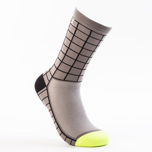 Matrix Cycling Socks (Black&Grey)