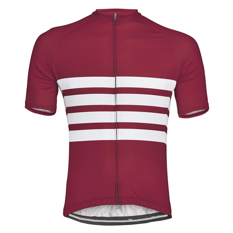 Red Iconic Cycling Jersey - Vogue Cycling
