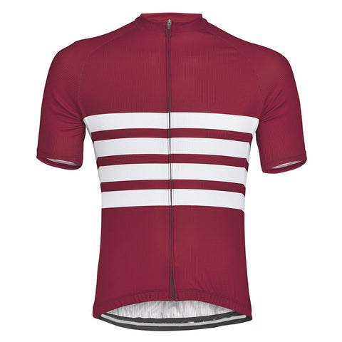 Red Iconic Cycling Jersey