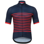 Load image into Gallery viewer, Red Classic Stripes Jersey - Vogue Cycling