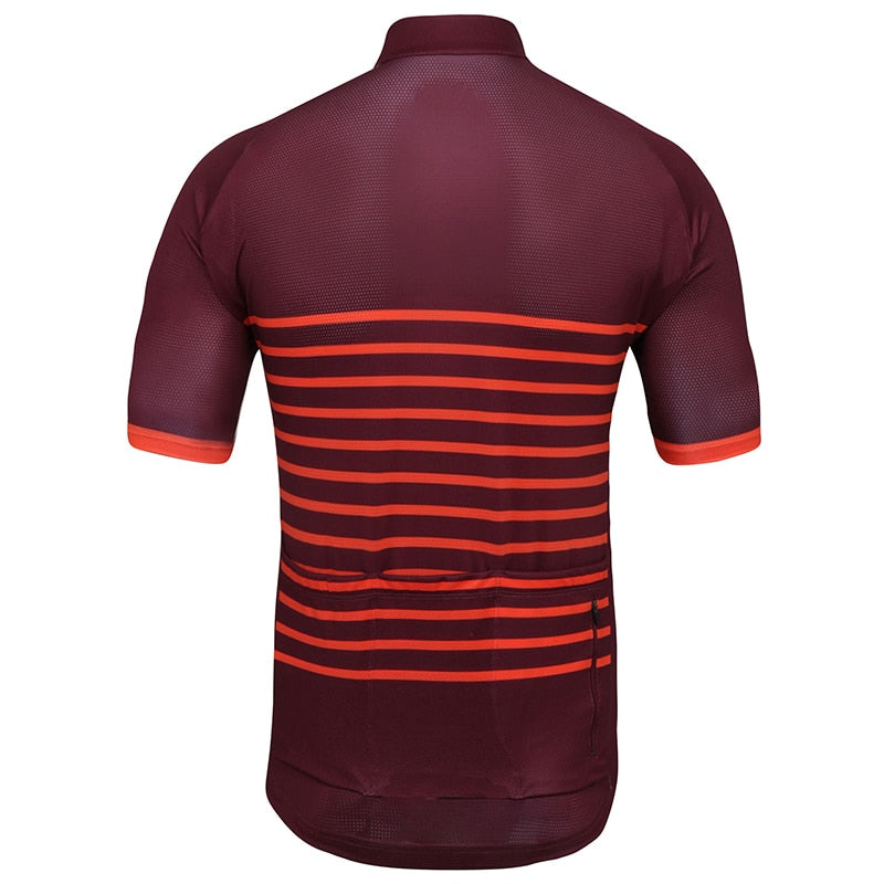 Orange Classic Stripes Jersey