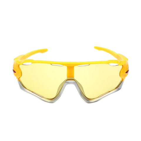 Yellow Pro Cycling Glasses - Vogue Cycling