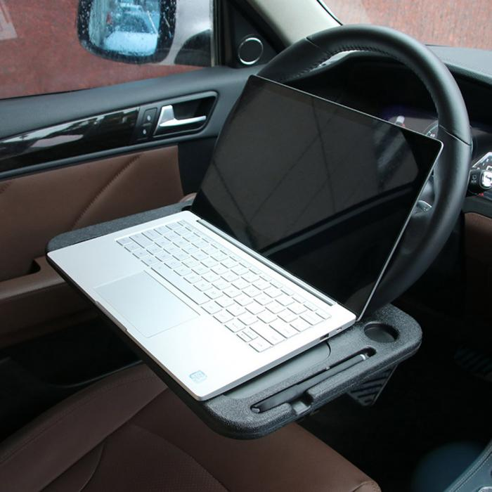 StuDesk - Portable Car Steering Wheel Multi-Desk table