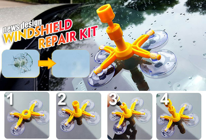 MagiFix - Windshield Glass Quick Repair Kit DIY