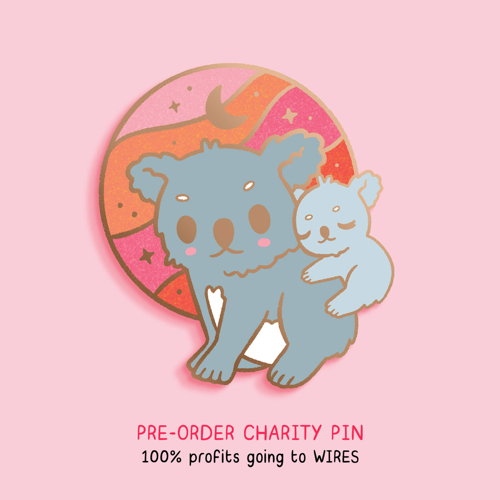 Koala Australia Charity Pin Preorder for WIRES