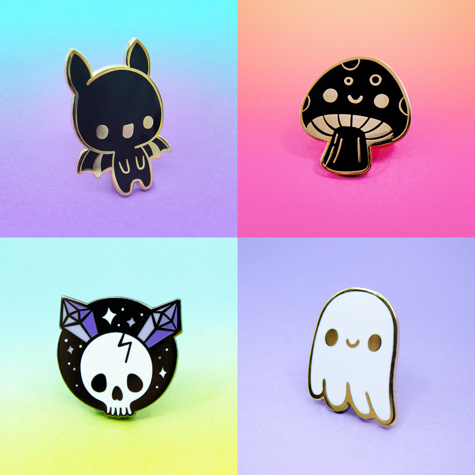 B-grade and Seconds Enamel Pins