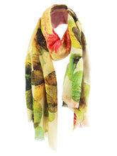 The Wish Long Silk Scarf - Clover