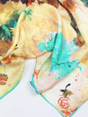 The Wish Square Silk Scarf - Dandelion