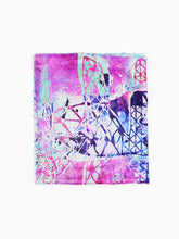 The Dancer Superlight Silk Summer Scarf - Smoky Mountain