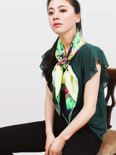The Yard Square Silk Scarf