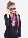 The Lakeside Long Silk Scarf