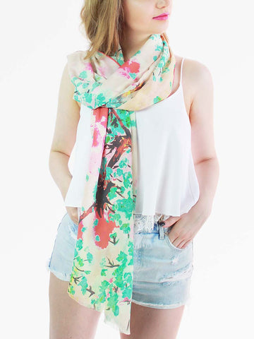 The Yard Long Silk Scarf