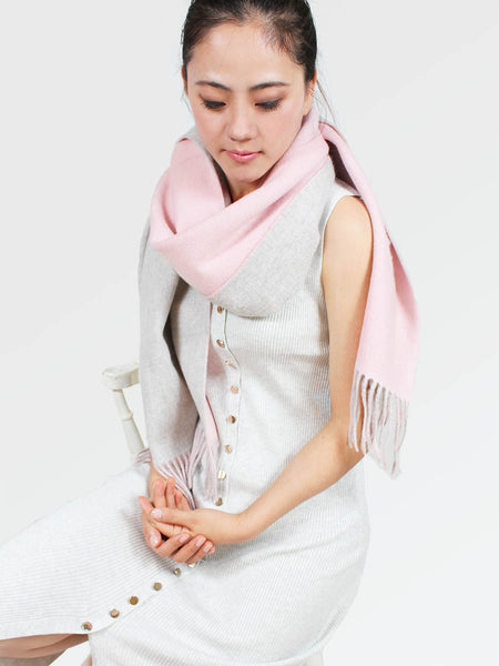 The Cozylab Oversized Cashmere Blended Scarf - Hymalayan