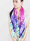 The Lakeside Square Silk Scarf