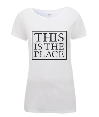 Women's T-shirt THIS IS THE PLACE