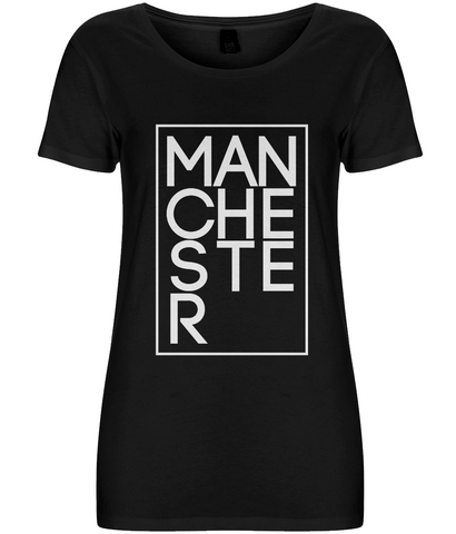 Women's T-shirt Manchester-white