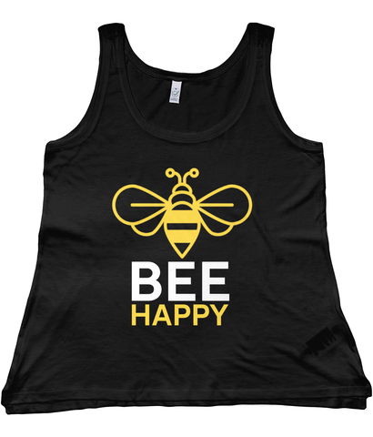 Women's Vest Bee Happy