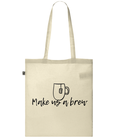 Classic Shopper Tote Bag Make-Us-A-Brew