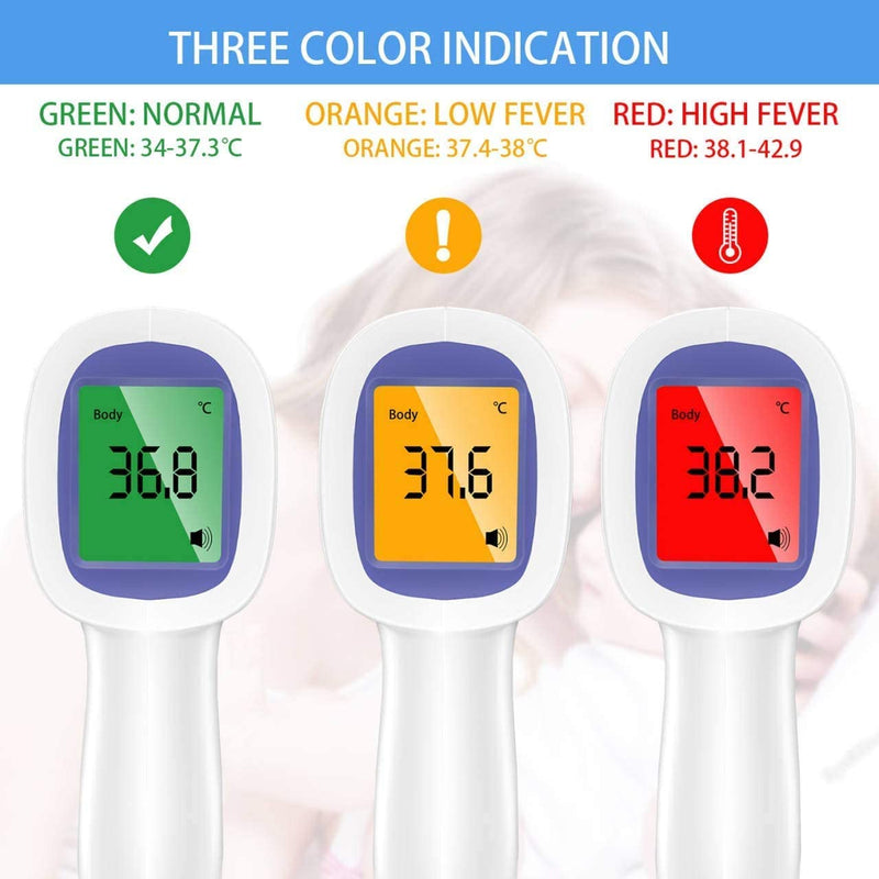 【Bulk Sale】Non-Contact Forehead Digital Thermometer 100 Units