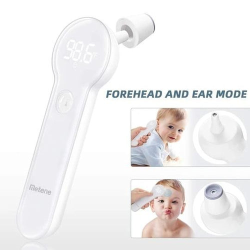 Forehead and Ear Contact Thermometer