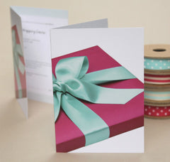 Jane Mean Gift Wrapping Voucher Card