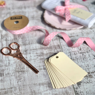 Buttermilk Eyelet Tags