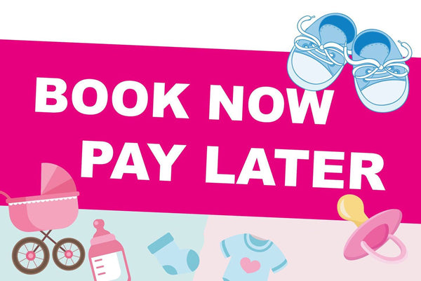 BOOK NOW, PAY LATER programme