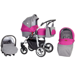 Silver 3 in 1 Travel System