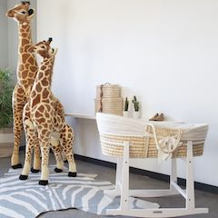 MOSES BASKETS / CRIBS / BEDSIDE COTS