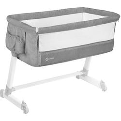 Theo Bedside cot - CONCRETE