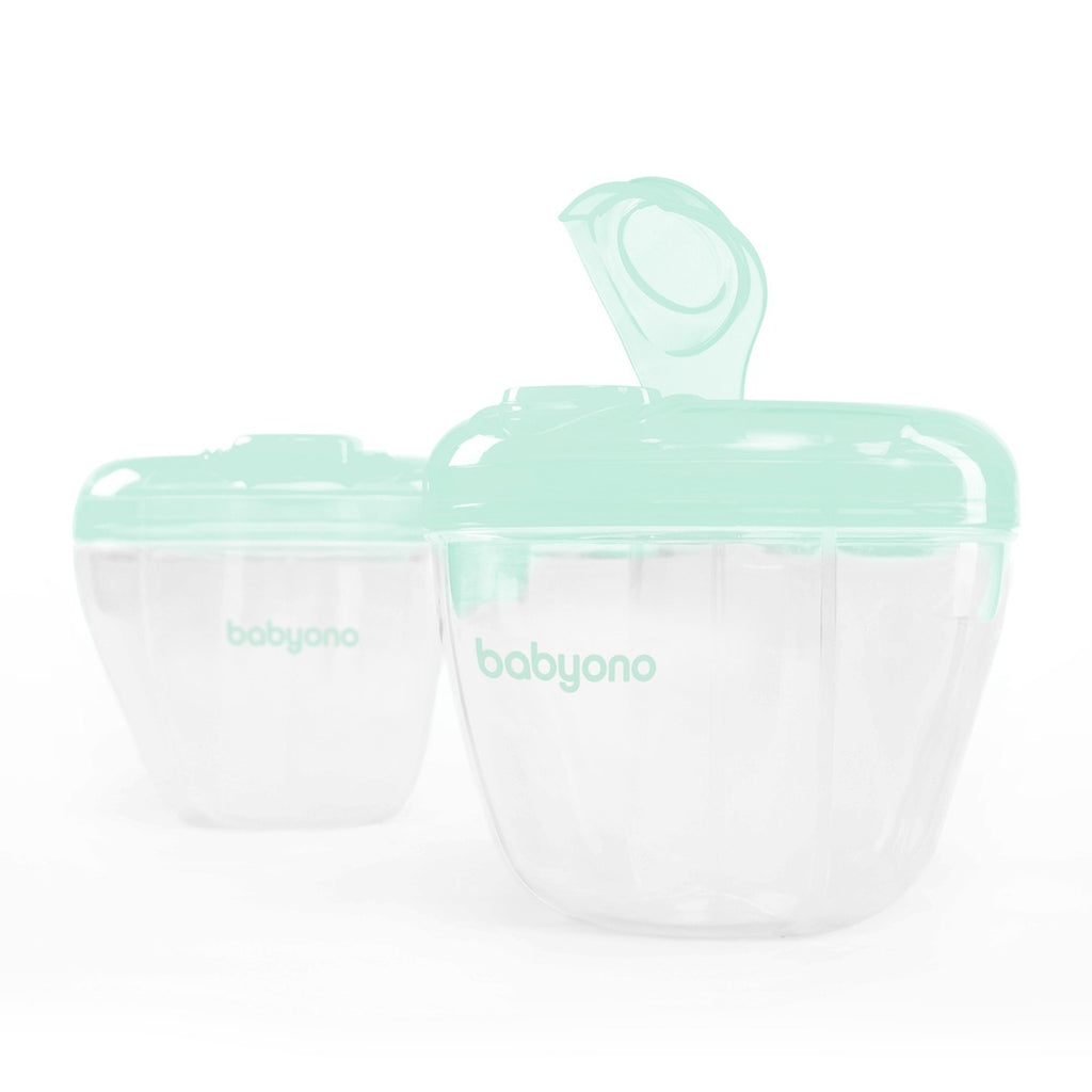 Powdered formula dispenser - mint - Little Baby Shop -