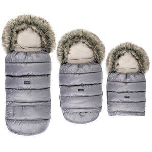 Grow UP Sleeping Bag / Footmuff - pastel grey, Little Baby Shop Ltd.