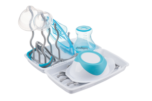 Universal bottle and teat drying rack - light - Little Baby Shop -