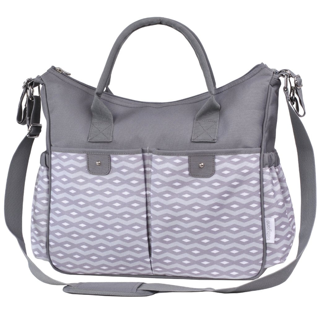 Smart Mother Changing Bag SO CITY! - grey - Little Baby Shop - Little Baby Shop