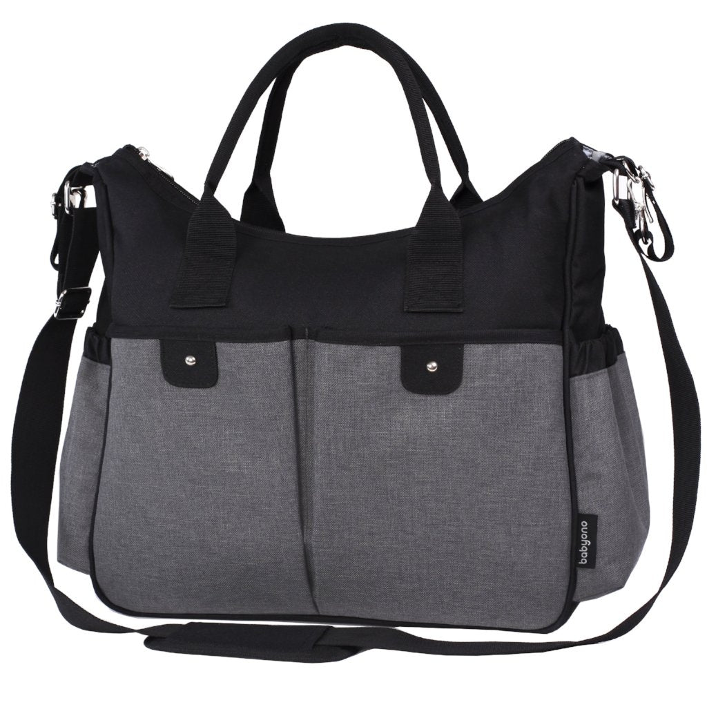 Smart Mother Changing Bag SO CITY! - grey/black - Little Baby Shop - Little Baby Shop