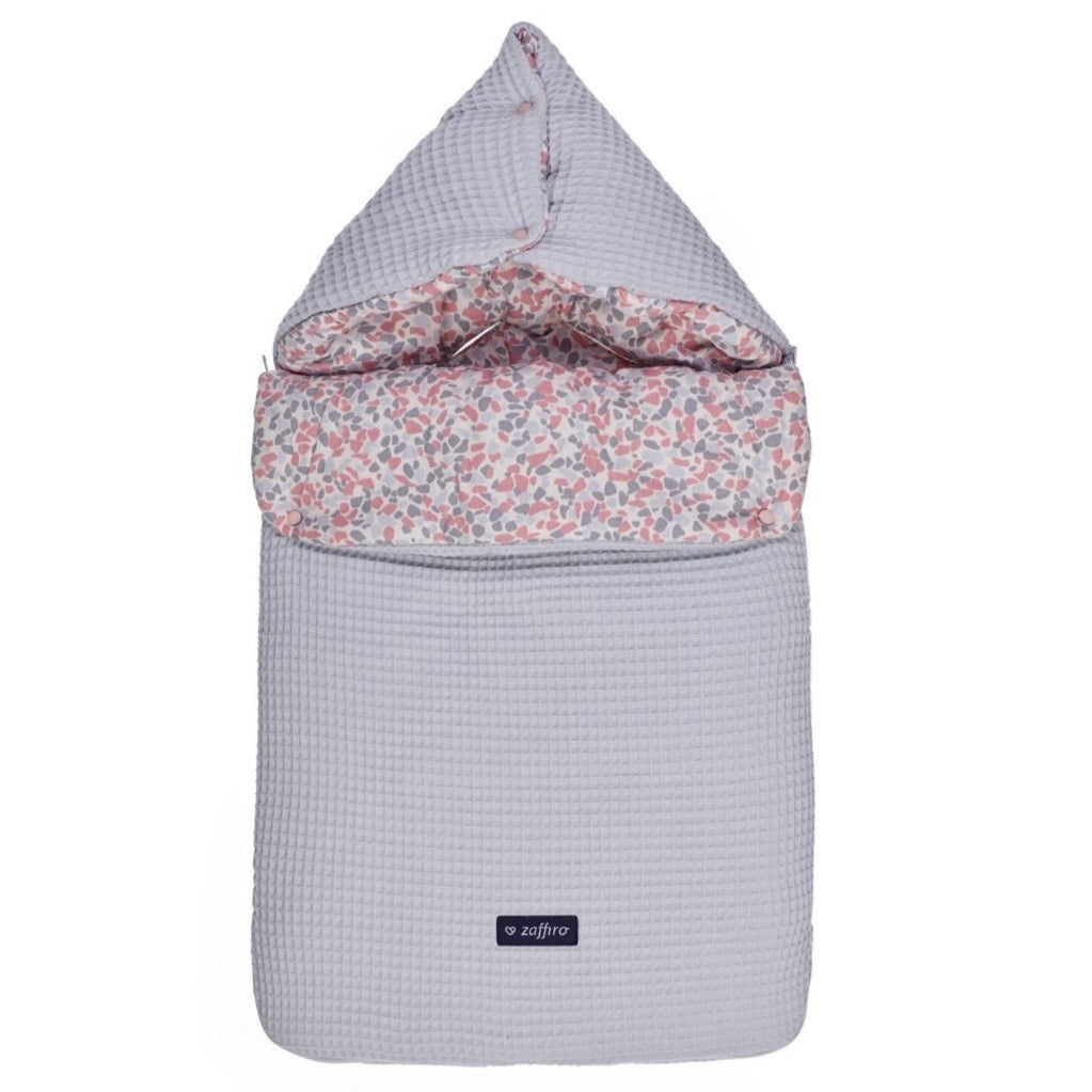 Sleeping Bag 5 in 1  - grey waffle / stones