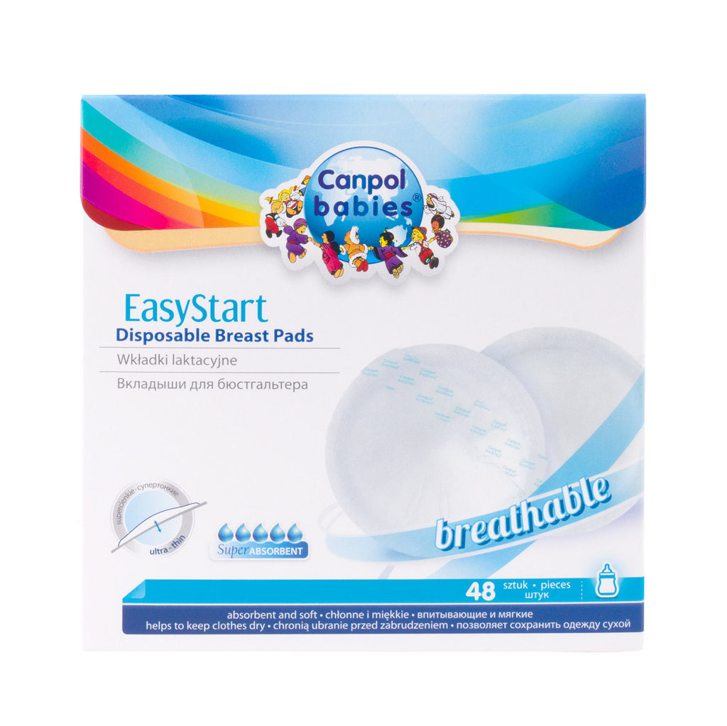 Canpol Babies Easy Start Breast Pads 48pcs.